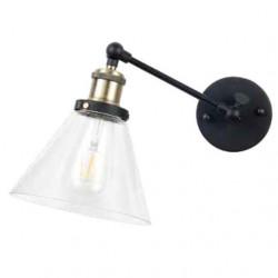 W/V SHAPE GLASS WALL LAMP...