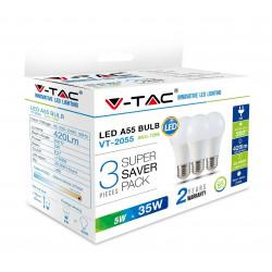 LED Bulb - 5W E27 A55...