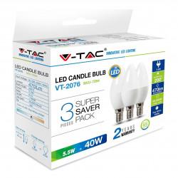 LED Крушка - 5.5W E14...