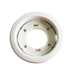 GX53 Fitting Round White -...
