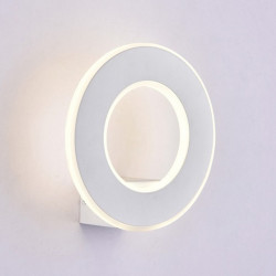 9W LED Wall Light White...