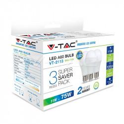 LED Bulb - 11W E27 A60...