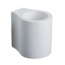 G9 FITTING ROUND-WHITE - 3694