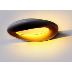 10W LED Wall Light Black...
