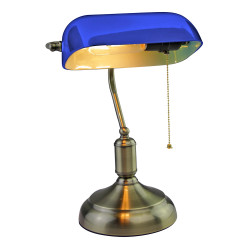 Bankers Table Lamp with...