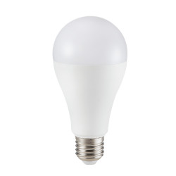 12W A65 PLASTIC BULB WITH...