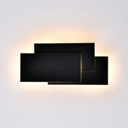 12W LED Wall Light Black...