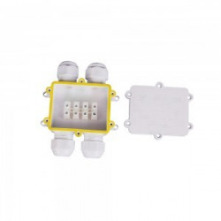 WHITE 4 PIN WATER PROOF...