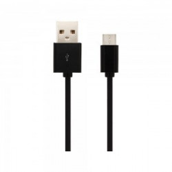 1.5M-MICRO USB CABLE-BLACK