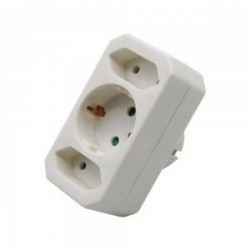 ADAPTER WITH EARTHING...
