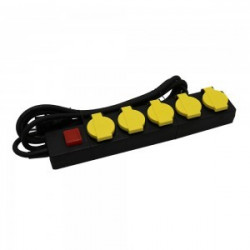 5 WAYS SOCKET WITH LIGHTED...