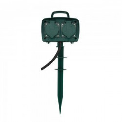 4 WAYS GARDEN SPIKE SOCKET(...