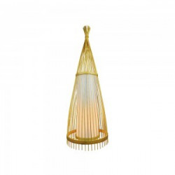 E27-WOODEN FLOOR LAMP WITH...