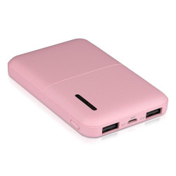 5000mAh-POWER BANK-PINK
