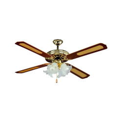 55W-LED CEILING FAN WITH 4...